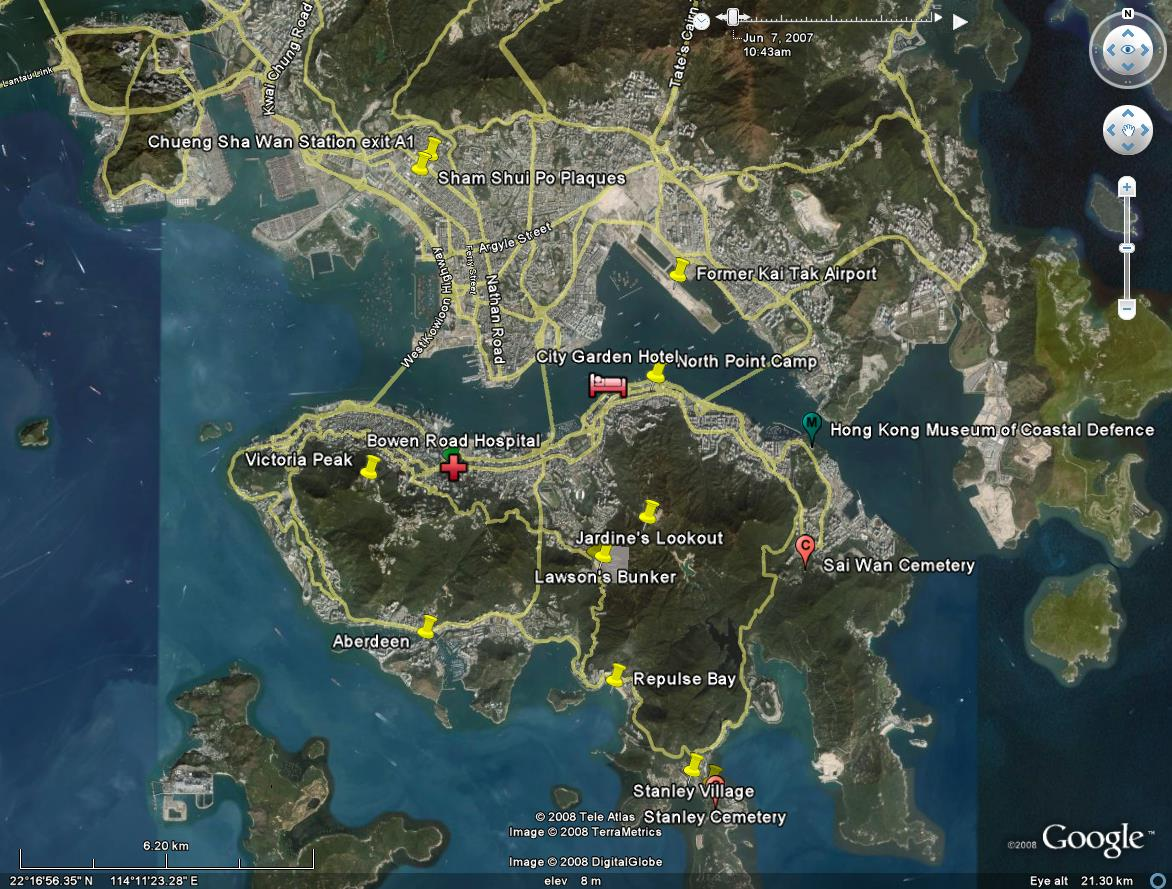 how to add more than one georss overlay to map